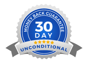 30 Days Unconditional Money Back Guarantee on Plus Software Solutions